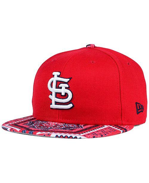 online retailer f101b b6e38 ... New Era St. Louis Cardinals Kaleidovize 9FIFTY Snapback Cap ...