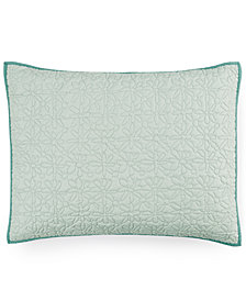 bluebellgray Fern Solid Quilted King Sham