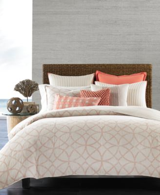 hotel collection textured lattice linen bedding collection created for macyu0027s