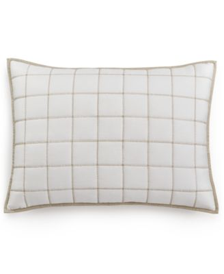 Waffle Weave Quilted Standard Sham, Created for Macy's