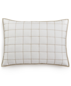 Hotel Collection Waffle Weave Quilted Standard Sham Created for Macys Bedding