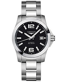 Men's Swiss Automatic Conquest Stainless Steel Bracelet Watch 39mm L36764586