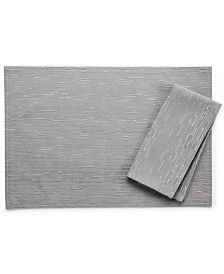 "Bardwil Continental Collection 19"" X 19"" Gray Napkin"