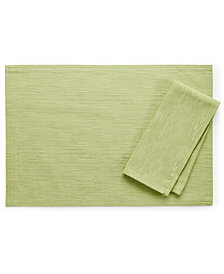 """Bardwil Continental Collection 13"""" X 18"""" Kiwi Placemat"""