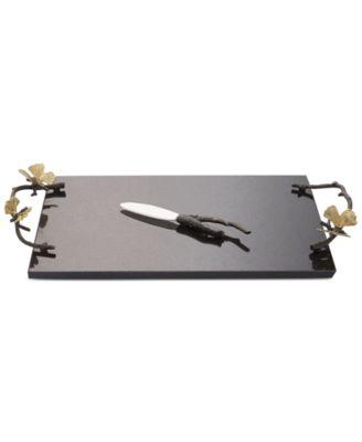 Butterfly Ginkgo Cheeseboard & Knife Set