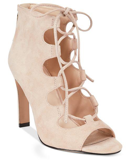 Nine West The Unfrgetabl Lace-Up Dress Sandals