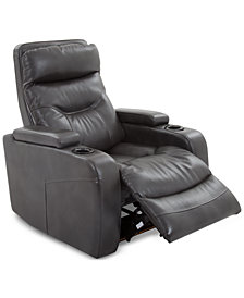 Clancy Leather Power Recliner