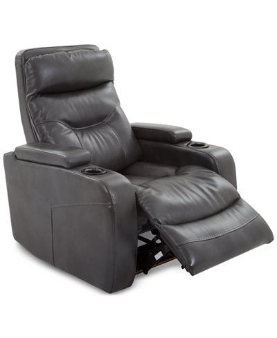 Clancy Power Recliner Furniture Macy S