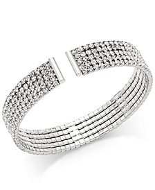 INC Crystal Flex Bracelet, Created for Macy's