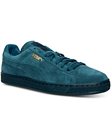 Puma Men's Suede Classic Iced Mono Casual Sneakers from Finish Line