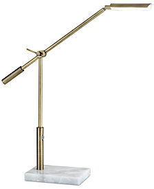 Adesso Vera LED Swing Arm Desk Lamp