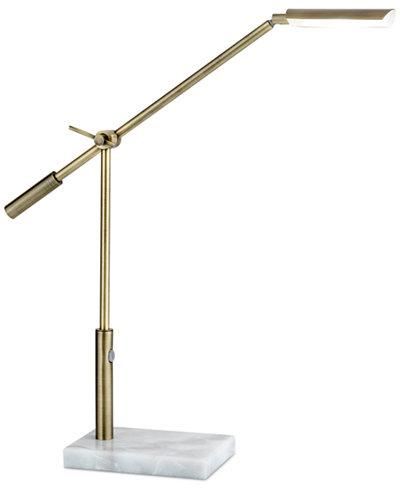 Adesso Vera LED Swing Arm Desk Lamp