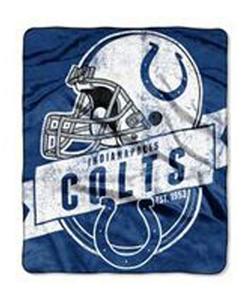 Northwest Company Indianapolis Colts Grand Stand Plush Throw Blanket Delectable Colts Throw Blanket