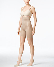 SPANX Women's  Super High Power Tummy Control Footless Capri, also available in extended sizes