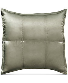 Donna Karan Home Moss Silk Quilted European Sham