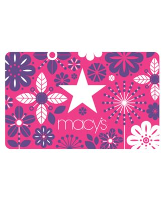 Macy's Floral E-Gift Card - Gift Cards - Macy's