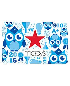 Macy's Graduation E-Gift Card