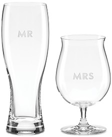 kate spade new york Darling Point Collection 2-Pc. Beer Glasses Set