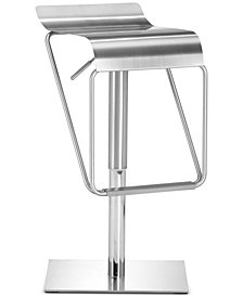 Millon Stainless Steel Bar Stool, Quick Ship