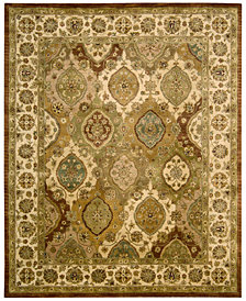 "CLOSEOUT! Nourison Rajah Pale Panel Multi 3'9"" x 5'9"" Area Rug"