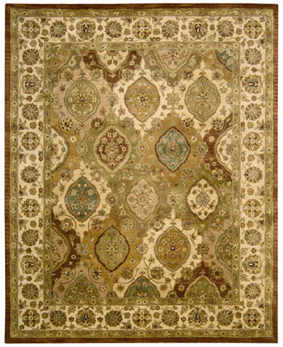 CLOSEOUT! Nourison Rajah Pale Panel Multi Area Rugs