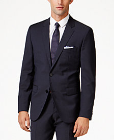 HUGO Men's Navy Extra Slim-Fit Jacket