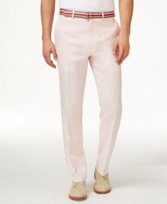 Dkny Men Men S Linen Pants Shop Men S Linen Pants Macy S