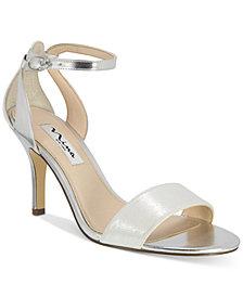 Nina Venetia Ankle-Strap Evening Sandals