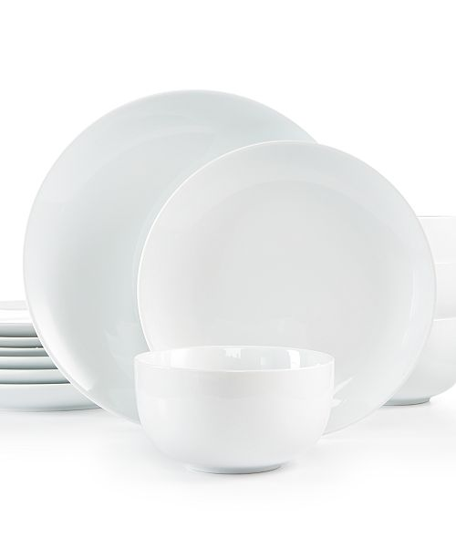 The Cellar 12-Pc. Coupe Set, Created for Macy's