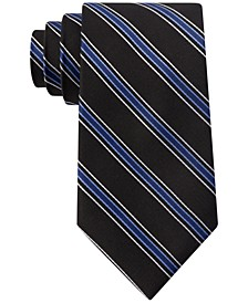 Men's Basic Stripe Tie, Created for Macy's