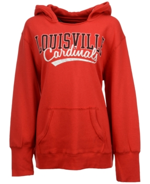 J America Women's Louisville Cardinals Plus Size Hoodie plus size,  plus size fashion plus size appare