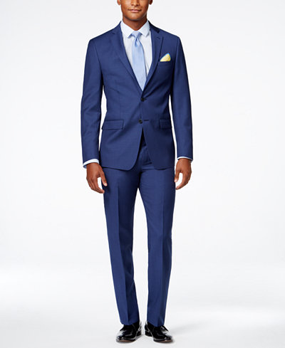 Mens Suits: Blue, Black, Gray - Mens Apparel - Macy's