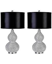 Set of 2 Vito Sea Urchin Table Lamps