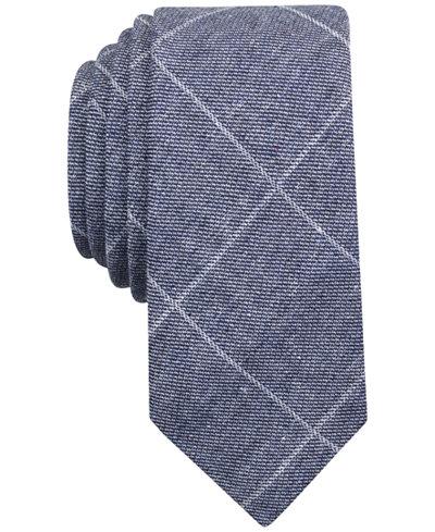 Original Penguin Men's Kilwin Grid Skinny Tie