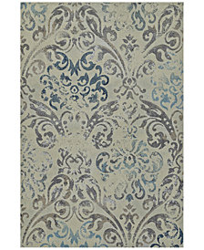 "Dalyn Mosaic Filigree Linen 3'3"" x 5'1"" Area Rug"