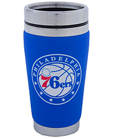 Hunter Manufacturing Philadelphia 76ers 16 oz. Stainless Steel Travel Tumbler
