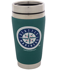 Hunter Manufacturing Seattle Mariners 16 oz. Stainless Steel Travel Tumbler