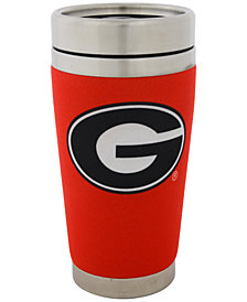 Hunter Manufacturing Georgia Bulldogs 16 oz. Stainless Steel Travel Tumbler