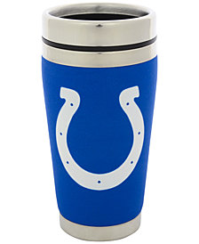 Hunter Manufacturing Indianapolis Colts 16 oz. Stainless Steel Travel Tumbler