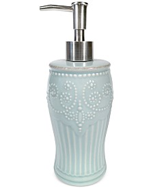 Lenox French Perle Groove Lotion Dispenser