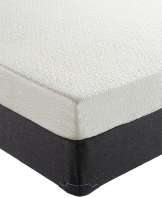 "Ladan 6"" Cool Gel Memory Foam Firm Mattress, Quick Ship, Mattress in a Box- Twin"
