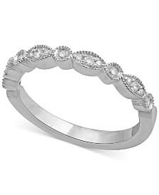 diamond wedding band 16 ct tw in 14k white gold