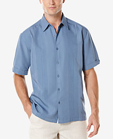 Cubavera Ombré Embroidered Short-Sleeve Shirt