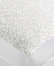 Protect-A-Bed® Plush Super Soft Velour Fitted Sheet Style Full Mattress Protector