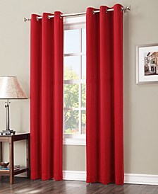 "Preston 40"" x 108"" Grommet Top Blackout Curtain Panel"