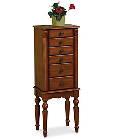 Jerri Jewelry Armoire, Quick Ship