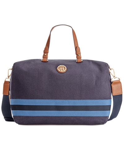 tommy hilfiger marta weekender handbags accessories macy 39 s. Black Bedroom Furniture Sets. Home Design Ideas