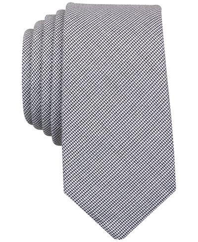 Original Penguin Men's Nardos Chambray Skinny Tie