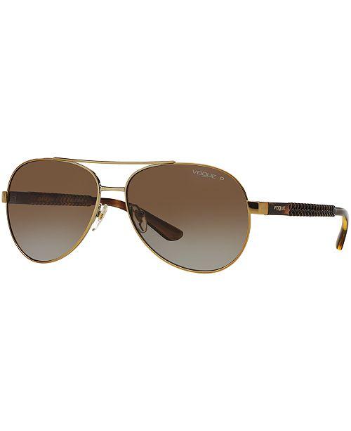 9b9111ce80 ... Vogue Eyewear Polarized Sunglasses