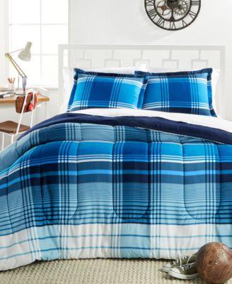 chapman 3pc reversible plaid comforter sets - Plaid Comforter